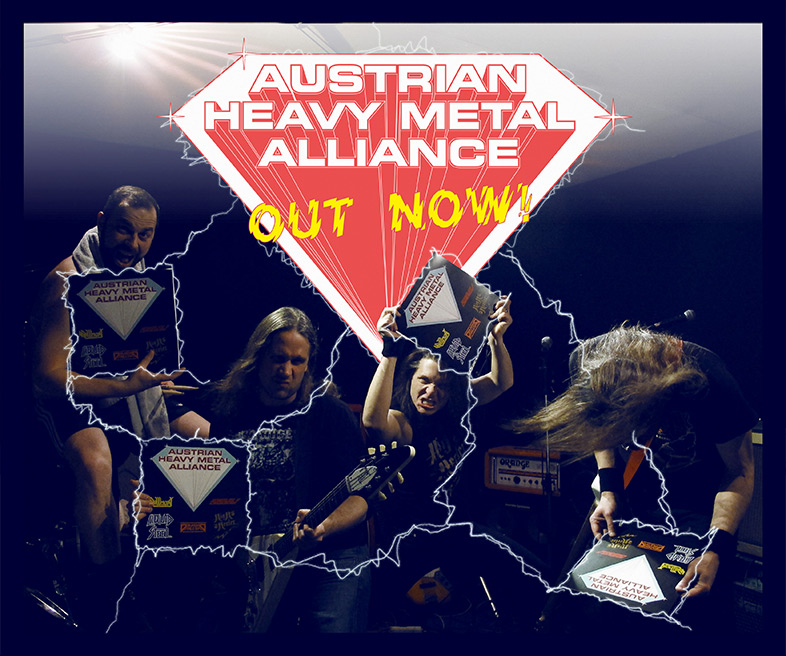 Austrian Heavy Metal Alliance - Out Now